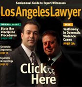 Los Angeles Lawyer Mag Cover